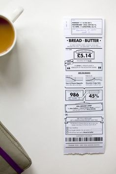 Dezeen » Blog Archive » Receipt redesign by BERG