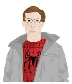 Illustration - Oli Phillips #phillips #spider #illustration #oli #man