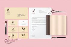 Trejoli on the Behance Network #salon #branding #bird #identity #beauty