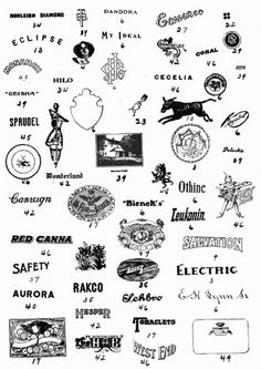 All sizes | Electric | Flickr - Photo Sharing! #vintage logos
