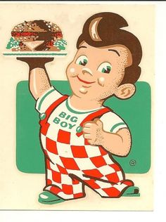 All sizes | Bob's Big Boy! | Flickr - Photo Sharing! #logo #illustration #retro #vintage