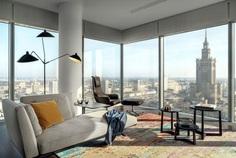 Luxury Apartment at Warsaw by Katarzyna Kraszewska
