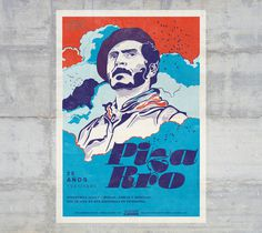 Carlos Pizarro, colombian guerrilla leader 1951 / 1990. #graphicdesign #latinamericandesign #poster #afiche #colombia #type
