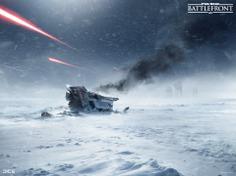 ArtStation - Hoth Key Art for the 2015 Star Wars Battlefront game. (2014), Anton Grandert