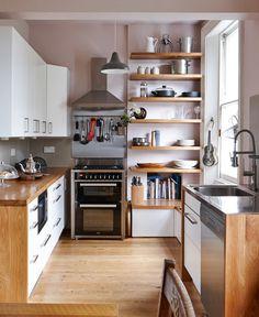 Kitchen, dimensioni, parquet, legno