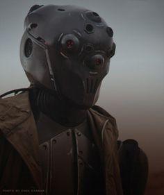 DRKVRTX - Life encounter. #alien #robot #costume #sci #fi #photography