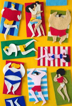 Master Of The Fuzzy Felts Jacopo Rosati Shows Us His Spectacular Collages #illustration #felt