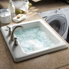 Air Jet Laundry Basin #tech #flow #gadget #gift #ideas #cool
