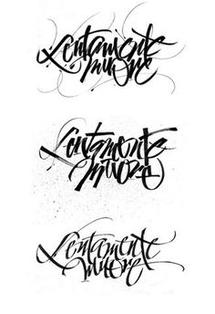 FFFFOUND! | Neruda - sketches | Flickr - Fotosharing! #calligraphy #lentamente #muore