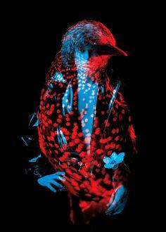 - bêtes de mode : - H E L M O - #two face #human #animal