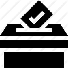 See more icon inspiration related to vote, voting box, files and folders, elections, votes, election, vase, check mark, archive, communications, box and document on Flaticon.
