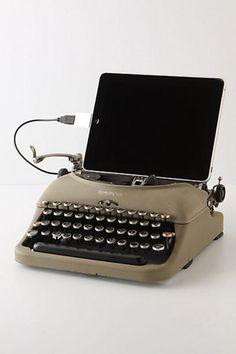 Remington USB Typewriter #gadget