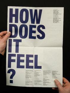 HEY HO #hey #brutalist #newsprint #ho #blue #typography