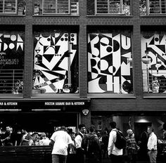 CJWHO ™ (Hoxton Window Project | Jonathan Calugi #design #illustration #art #creative #installation #window #hoxton