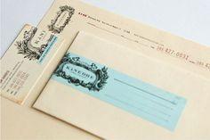 design work life » cataloging inspiration daily #letterhead