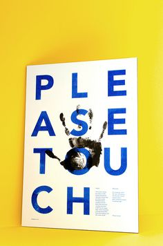Print design(Haptic PosterbyEmil Paun, viavisualgraphc) #print #poster