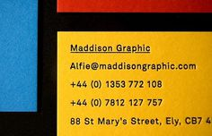 Maddison Graphic Stationery #graphics #maddison