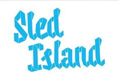 Sled Island 2011 - Working Format #logo