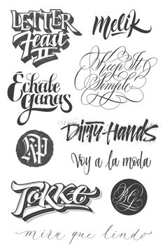 Joan Quirós - Styles #calligraphy #lettering