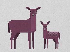 Deer by Małgorzata Żółkiewska #koluszki #magorzata #deer #kiewska