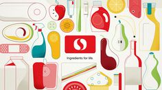 Safeway - kriswong.com #illustration #food