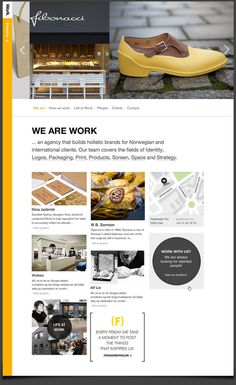 Work agency site by Unfold