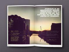 Behance :: STUDIOJQ SELF PROMO by Jonathan Quintin