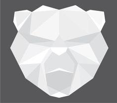 Noah Mooney Design #logo #bear #shapes