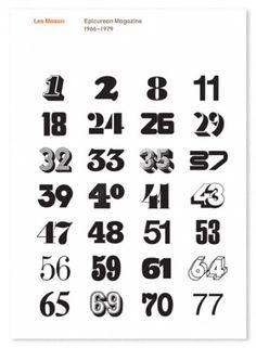 lesmason-epicurean-book-1 – designers books #les #numerals #mason #design #graphic #cover #magazine #typography