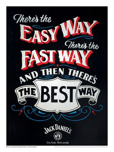 Jack Daniels - Sign Painter
