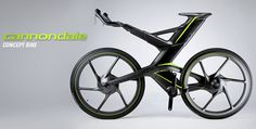 Cannondale CERV Bike #bicycle #vehicle #design #futuristic #gadget #industrial #concept #art