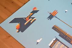 rick murphy plane3 #travel #poster