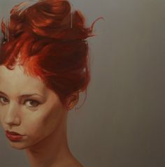 Yury Darashkevich » Design You Trust #illustration #portrait #woman #painting #form