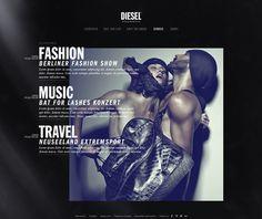 diesel #web #typography