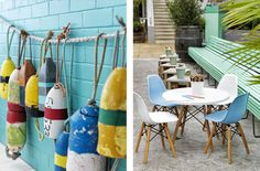 Watsons Bay Boutique Hotel | Beach Club Style | © Chris Court | Est Magazine #beach #rope #decoration