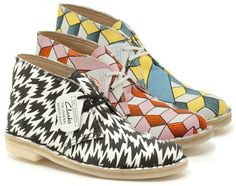 Clarks Original x Eley Kishimoto #clarks #mode #blog #covent #fashion