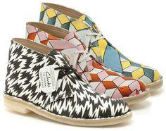 Clarks Original x Eley Kishimoto #clarks #mode #blog #covent #fashion
