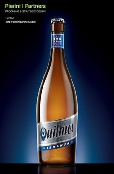 Quilmes 120 Años #packaging #beer #label #bottle