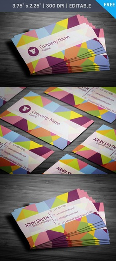 Free Translator Business Card Template