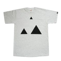 Cursa — Two Triangles #tshirt #cursa #triangle #minimal #tee #triangles #tees
