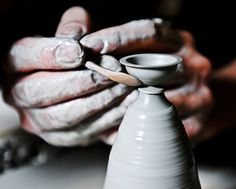 Miniature Hand Thrown Pottery