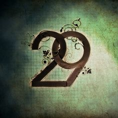 ../ Chau 29 #nouveau #typography #avant #brown #art #garde #green