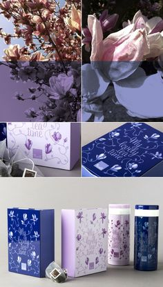 My lovely tea time - Packaging by www.o-zone.it #illustration #collection #packaging #tea #flower #tea time