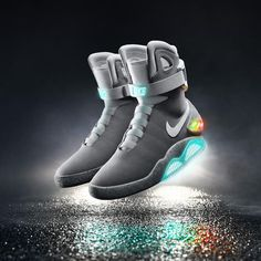 The 2015 Nike Mag bttf back to the future mcfly