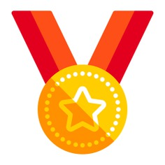 See more icon inspiration related to medal, award, champion, winner and sports and competition on Flaticon.