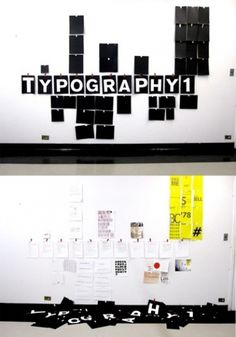 Typography Poster - DLA #pages #school #design #graphic #akzidenz #wall #poster #art #student #typography