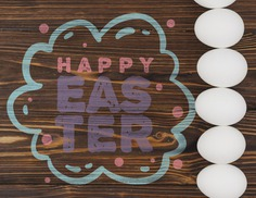 Happy easter day Free Psd. See more inspiration related to Mockup, Template, Typography, Spring, Celebration, Happy, Font, Holiday, Mock up, Easter, Religion, Egg, Calligraphy, Lettering, Traditional, View, Up, Day, Top, Top view, Cultural, Tradition, Mock, Seasonal and Paschal on Freepik.