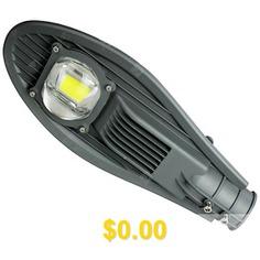 Outdoor #LED #Solar #Street #Lamp #Head #- #BATTLESHIP #GRAY
