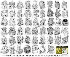 52 Adventure House Concepts by STUDIOBLINKTWICE on deviantART #adventure #houese