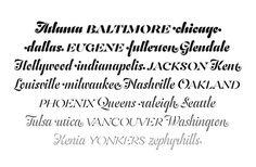 TYPECACHE'S Favorite Fonts of 2013 | TYPECACHE.COM #serif #font #typeface #typography